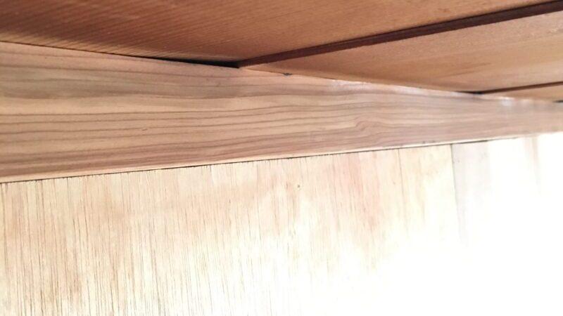 天井の隙間