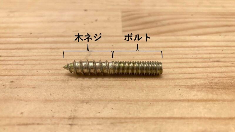 ハンガーボルトの形状